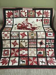 i made this canada 150th celebration quilt for good friends using