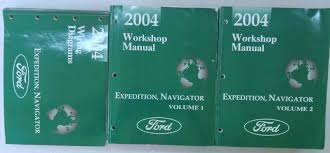 2004 ford expedition navigator shop service repair manual oem