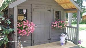 charming garden sheds from rustic to modern door design gardens