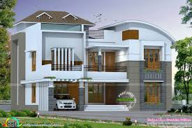 mixed roof contemporary home 2926 sq ft kerala home design