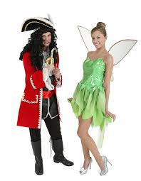 Halloween Costumes Coupons Captain Hook Tinkerbell Couples Costumes Costumes Dress