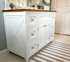 46 inch vanity cabinet bathroom gorgeous farmhouse bathroom vanity gallery 2017