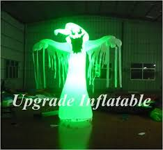 Outdoor Inflatables Outdoor Decorations Ghost With Colorful Led