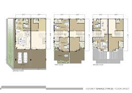 floor plan in french baby nursery three story townhouse plans bedroom floor house