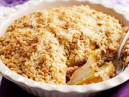 apple pear crumble apple and pear crumble recipe food to love