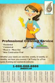 create amazing flyers for your cleaning business by customizing