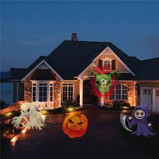 animated halloween lights halloween projector flashlight trick torch with 5 projection kids