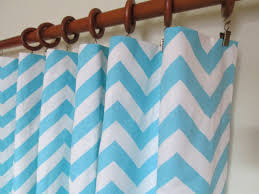 White Chevron Curtains Amazing Pair Of Wide Baby Blue And White Chevron Curtain Pics Gray