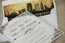 wedding invitations nyc new york wedding invitations new york city wedding stationery