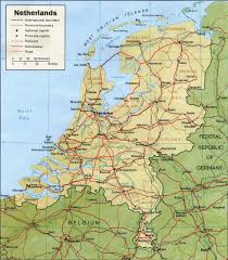 Map Of The Netherlands The Netherlands