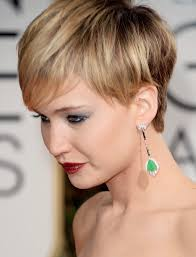 more pics of jennifer lawrence layered razor cut 3 of 30 short
