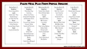 simple paleo diet menu plan nutrisystem 5 free