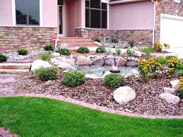Rocks For The Garden Fabulous Small Front Yard Landscaping Ideas With Rocks Edbcfddaa X