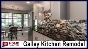 how much is a galley kitchen remodel galley kitchen remodel before after modern design
