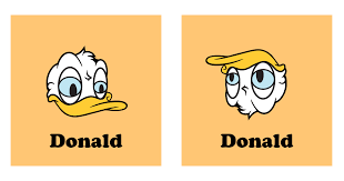 Donald Duck Meme - who knew that if you turned donald duck upside down you get the