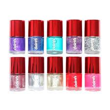 10 pack christmas nail polish set claire u0027s