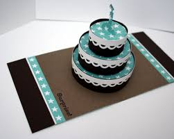 how to make birthday cake pop up card scrapbook cards today an