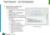 closure report template test closure report template professional and high quality templates