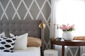 bedroom wall patterns wall paint ideas painting a pattern on a wall rustic crafts