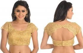 saree blouse designer scalloped saree blouse at rs 250 d 189 focal