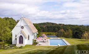 pool home bette midler u0027s family pool house see inside people com