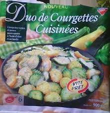 courgettes cuisin s duo de courgettes cuisinées leader price une part calories 45