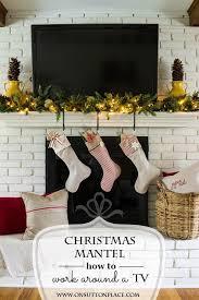 White Christmas Mantel Ideas diy christmas mantel decor ideas on sutton place