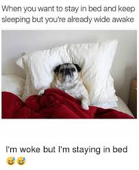Stay In Bed Meme - when you want to stay in bed and keep sleeping but you re already