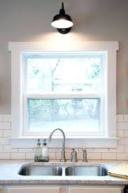 kitchen window sill trim ideas kitchen window molding ideas