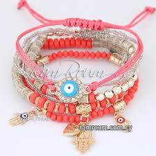 evil eye beads bracelet images Hamsa evil eye beads bracelet f45155 fashion accessories jewelry jpg