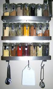 Wall Mount Spice Cabinet With Doors Metal Spice Rack Racks Kitchen Free Standing Ikea Hanging