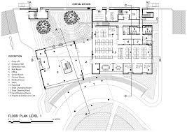 Floor Plan Description by Gallery Of Mk Ck5 Production Office Agaligo Studio 44