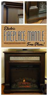 build electric fireplace best 25 electric fireplace with mantle ideas on pinterest white