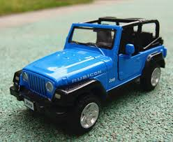 jeep model kit blue jeep wrangler suv 1 32 diecast plastic car model kit