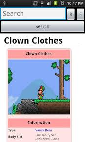 Vanity Clothes Terraria The Unofficial Terraria Wiki 1 1 0 Apk Download Android Casual Games