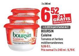boursin cuisine carrefour promotion boursin trio gourmand boursin boursin