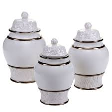 Black And White Kitchen Canisters Canister Sets Home World