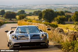 pagani getting loose in the pagani huayra bc speedhunters