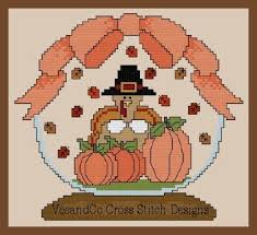 383 best cross stitch fall thanksgiving images on