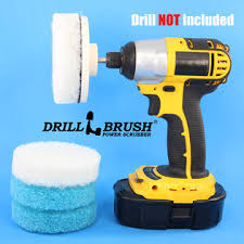 drillbrush electric handheld power scrubber attachment tub and