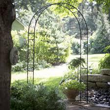 metal garden trellis arch home outdoor decoration