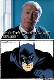 Alfred Meme - way to go alfred by recyclebin meme center