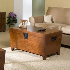 Coffee Tables With Drawers by Amazon Com Wood Storage Coffee Table Oak Finish Kitchen U0026 Dining