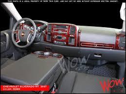 2008 Silverado Interior Dash Kits Real Wood Grain U0026 Carbon Fiber Camouflage U0026 Aluminum