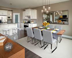 Dining Room Chandeliers Transitional Light Breakfast Ideas Dining Room Transitional With Gray Rug Table
