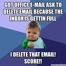Inbox Meme - inbox
