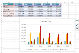 excel 2013 charts full page