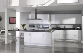 High Gloss Kitchen Cabinets White Gloss Kitchen Cabinets Home Design Ideas