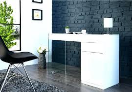bureau design noir laqué table de bureau design design dintacrieur bureau design noir laque