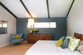 Modern Bedroom Blue  Ideas For Blue Contemporary Bedrooms Home - Amazing mid century bedroom furniture home